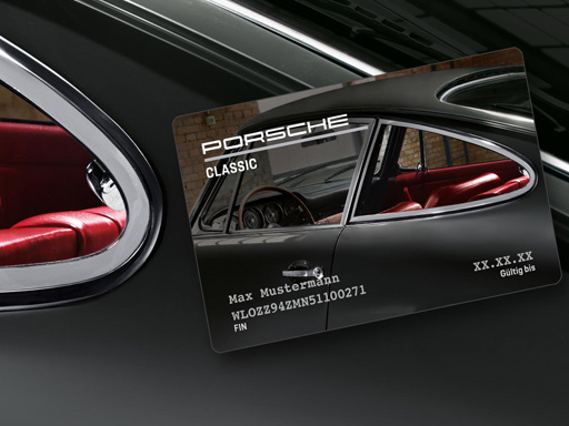 Porsche Classic Card